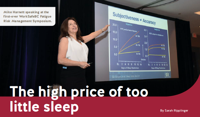 The High Price of too Little Sleep